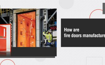 How are fire-rated doors made
